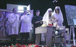 """Deșteptarea primăverii Teatrul """"Maria Filotti"""" 2007 foto regizorcautpiesa.ro"""