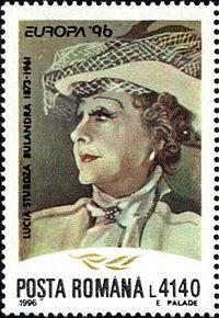 Lucia Sturdza Bulandra Poșta română 1996