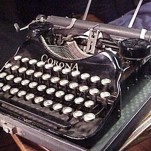 Corona Portable Typewriter