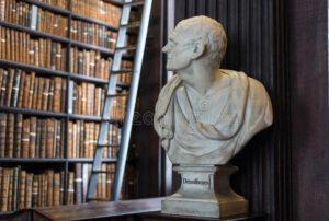 Demostene Trinity College sursa dreamstime.com